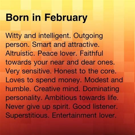 born with characteristics 17 best ideas about born in february on pinterest born