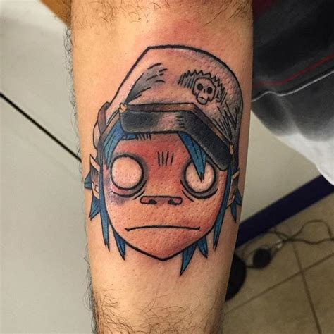 gorillaz tattoo 15 gorillaz tattoos that will give you the feel inc