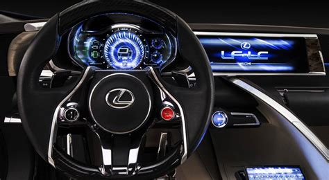 lexus lf lc interior is toyota about to put satellite broadband in a lexus