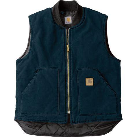 working vest carhartt s sandstone arctic quilt lined vest sizes model v02 northern