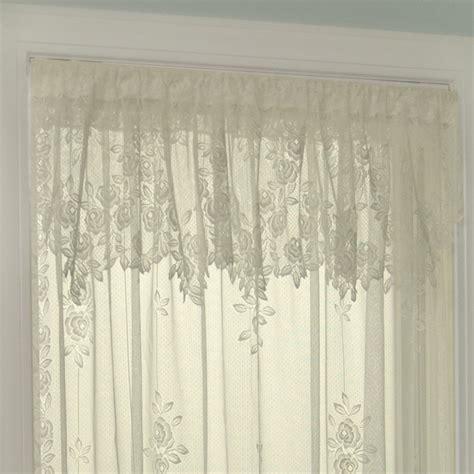 heritage lace curtains sale heritage lace tea rose 60 quot curtain valance reviews wayfair