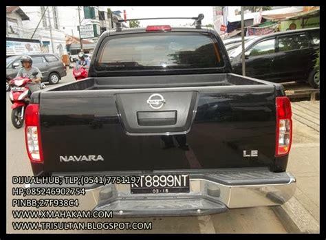 Stiker Bak Mobil Nissan Navara Generasi Ke 2 Original iklan bisnis samarinda dijual mobil nissan navara le 2011 hitam dowble cabin 4x4 barang siap