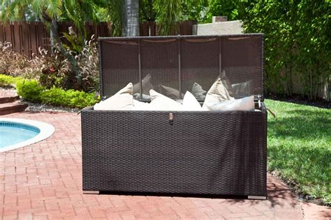 patio pillow storage don t wear out your bum this summer patio furniture articles patio furniture articles