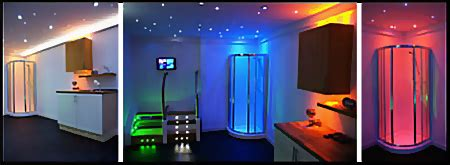 blue led bathroom lights waterproof colour changing led plinth lights for bathroom