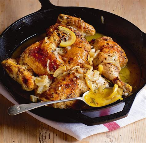 ina chicken ina garten s skillet roasted lemon chicken the