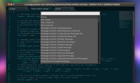 sublime text 3 theme manager easily discover and install plugins in sublime text 2 or 3