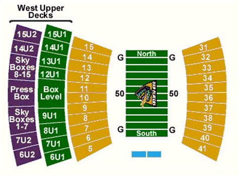 legion field seating chart chicago bears soldier field seating chart autos weblog