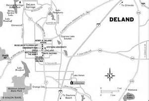 map of deland florida