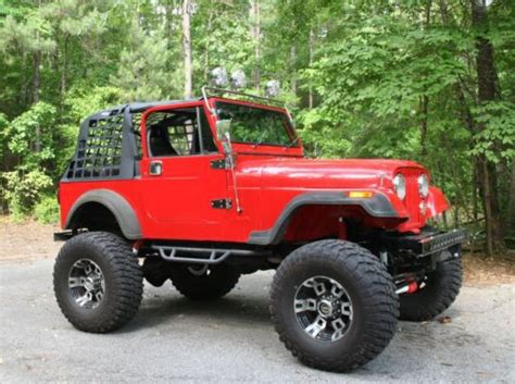 Used Jeeps For Sale In Alabama Sell Used 1986 Jeep Cj 7 Customized Hybrid In Montevallo