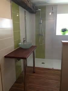 Charming Meuble Salle De Bain Avec Vasque Posee #10: R%C3%A9novation-de-salle-de-bain-avec-Sol-en-Teck-Nantes-Bricolages-2.jpg