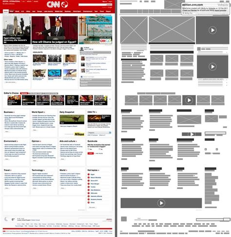 google design wireframe 1000 images about web thumbnails roughs wireframes on
