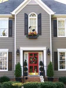 Paint Color Shutters Door Exterior Painting Ideas Painting Shutters And Front Door