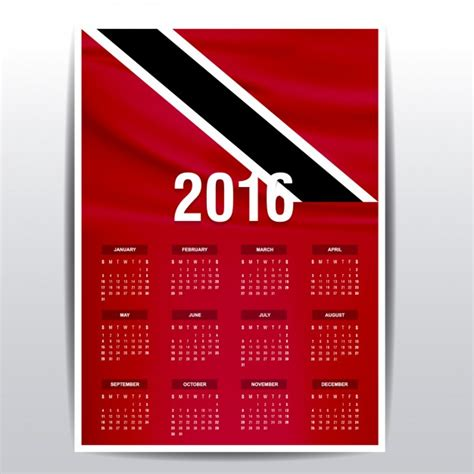 printable calendar 2016 trinidad calendario 2016 trinidad calendar template 2016