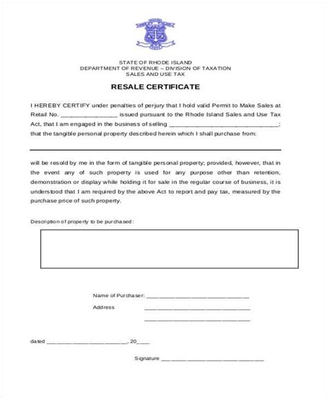 sle letter requesting resale certificate image