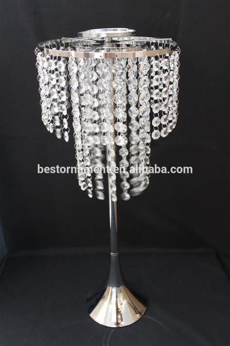 Chandelier Vase by Wedding Candle Holders Vases Table Chandeliers