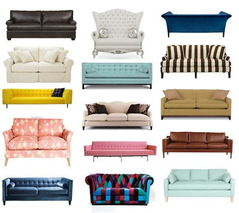 Styles Of Couches by Sofa Styles Living Room Decor Ideas Decor Ideas