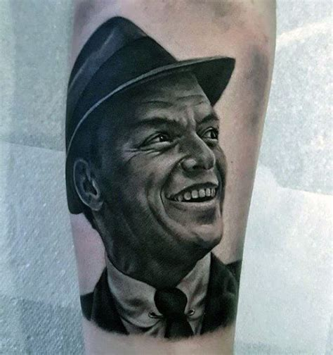 frank sinatra tattoo idea of frank sinatra tattoos 3 golfian