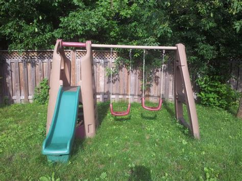 step 2 slide and swing set step 2 kids swing set and slide aylmer sector quebec ottawa