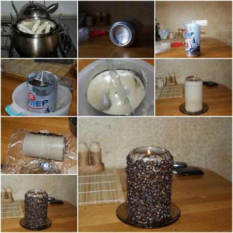 how to make designs on coffee how to make coffee candle step by step diy tutorial