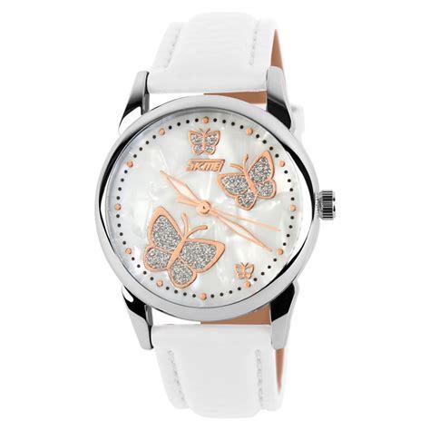 Jam Tangan Casual Skmei Tahan Air jual jam tangan wanita skmei casual butterfly