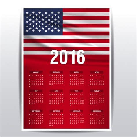Calendario De Dias Festivos En Estados Unidos Calendario De 2016 De Los Estados Unidos Descargar