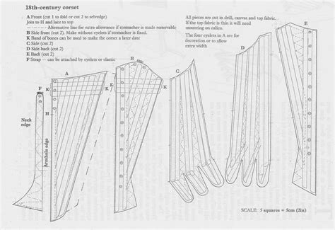 pattern of colonial rule isis wardrobe red stays 18th c corset pattern re