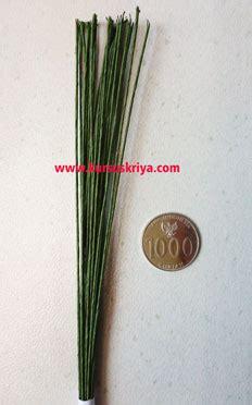 Kawat Batang Bunga kawat ranting bunga imitasi size 22 mbs147 kursus kriya