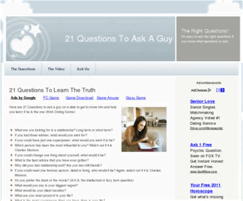 Or Question To Ask A Boy Free Program Question Questions To Ask