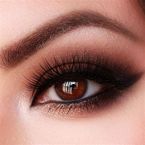Eyeshadow Brown 12 easy prom makeup ideas for brown salted caramels