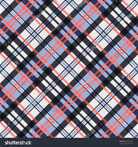 diagonal seamless pattern as tartan plaid vector image seamless diagonal vector pattern as a tartan plaid mainly