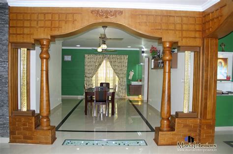 Interior Arch Designs For Home Kerala Interior Design Dining Room Interior Design