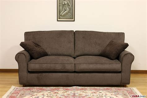 divani marroni tessuto divano classico in tessuto sfoderabile anche su misura
