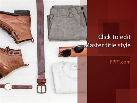 Mannequin Powerpoint Template Fashion Slides Template