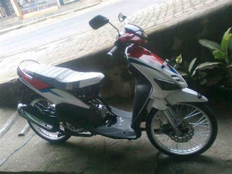 fashion modif motorcycle modified paint brush yamaha mio thailand look modification