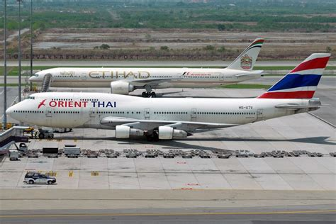 Thai Boeing 747 Passenger Airplane Alloy Plane Aircraft Metal Diecast 2 000 passengers affected as orient thai airlines cancels all hk flights hong kong free