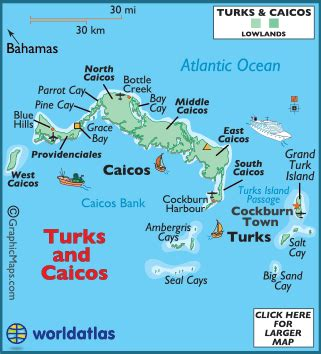 turks and caicos world map turks and caicos map geography of turks and caicos map