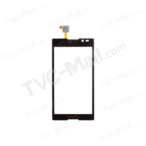 Touchscreen Sony Xperia C C2305 S39h oem lcd digitizer touch screen with adhesive for sony xperia c c2305 s39h black tvc mall