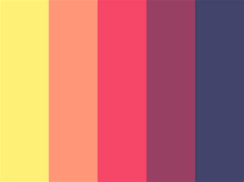 peach color schemes blue bright color colorful colors cool dark light