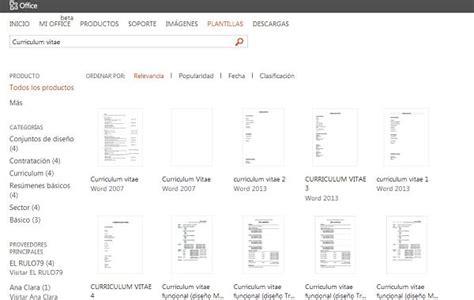 Plantilla De Curriculum Para Editar plantillas gratis de curr culums vitae para editar en word