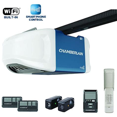 Garage Door Opener With Wifi by Genie Chainlift 800 1 2 Hp Chain Drive Garage Door Opener