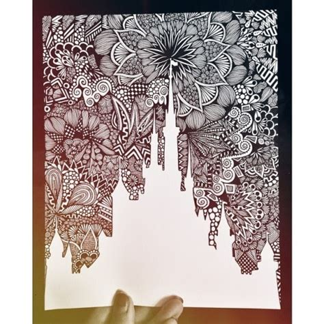 draw pattern en español i can kill you with a pencil blynn zentangles