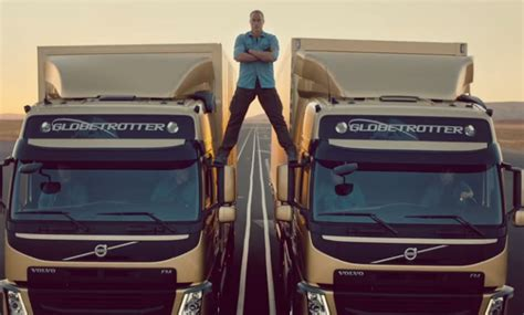 volvo truck ad after viral success can volvo trucks epic