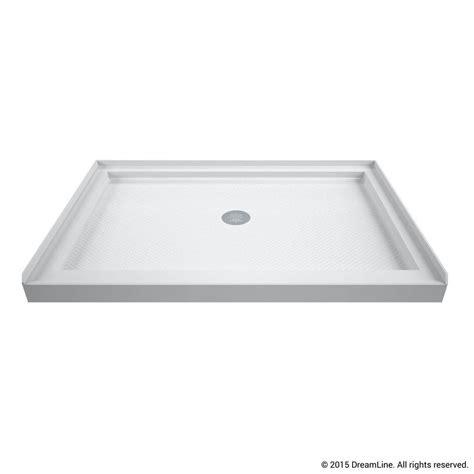 48 Inch Shower Base by Dreamline Slimline 36 In X 48 In Single Threshold Shower Base In White Dlt 1136480 The Home