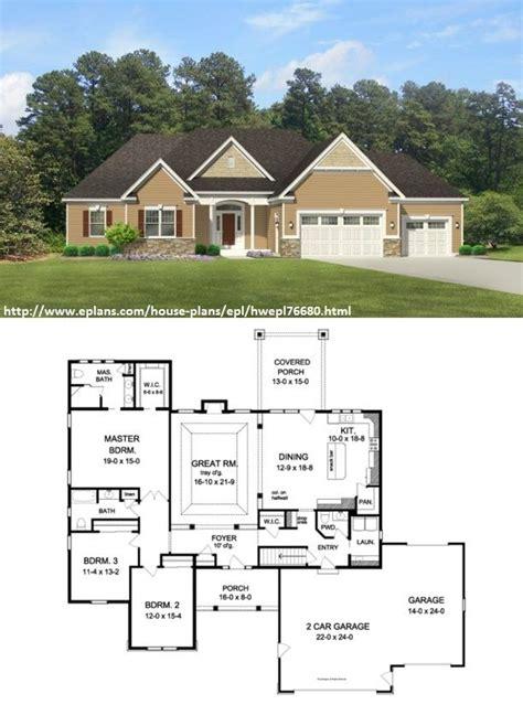 eplans ranch house plan simple triplex 3776 square eplans ranch house plan simple triplex 3776 square feet