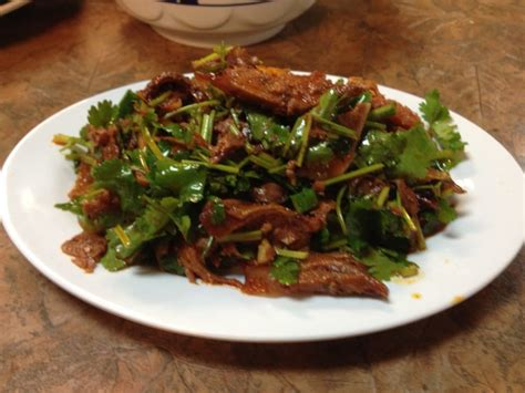 Shanghai Noodle House by Fu Qi Fei Pian Sliced Beef Shank Beef Tongue And Tripe