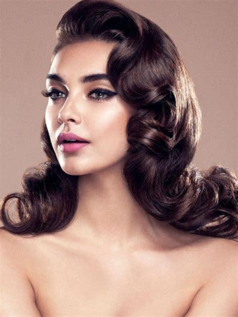 Vintage Updo Hairstyles Pinterest Best 25 Vintage Hairstyles Ideas On Vintage