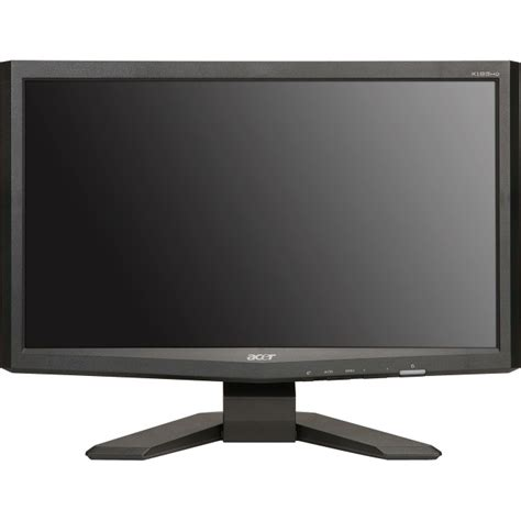 Monitor Acer 15 Inc acer x193hq 18 5 quot w 1366x768 10k 1 300nits 5ms dsub dvi e user c back 29
