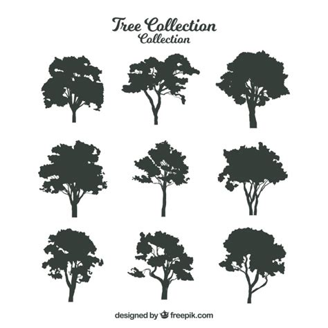 vector tree free tree silhouette vectors photos and psd files free