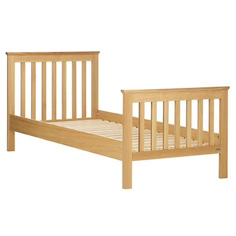 Buy Bed Frame And Mattress Buy Lewis Lasko Single Bed Frame Oak Lewis