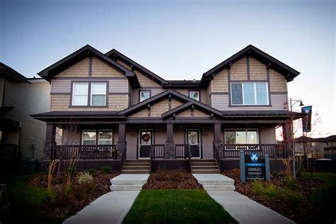 duplex builders duplex homes 171 granville west edmonton community new